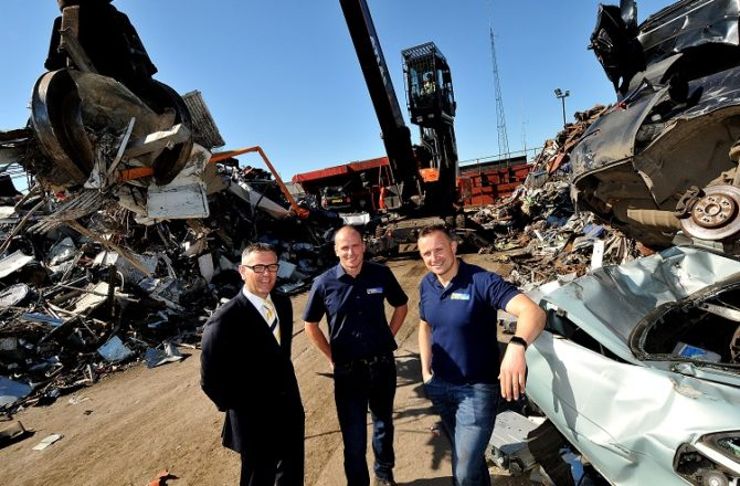 Cardiff Recycling Plant Imports £1M Machine Which is set to Double its Capacity