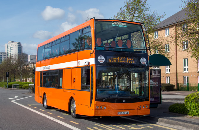 Cardiff Bus to Invest £1.5 Million in New Buses