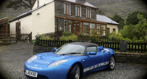 Multi-award Winning, Snowdonia Eco Guest House Corners the Market for Charging Tesla Vehicles