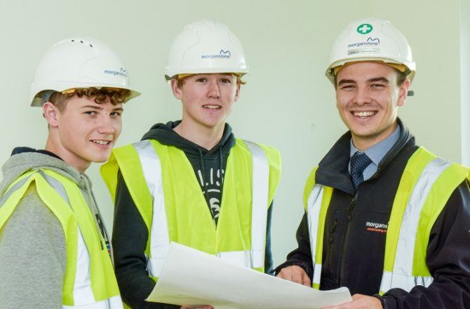 World of Work Programme Lays Foundations for Careers in Construction for Llanelli Youngsters