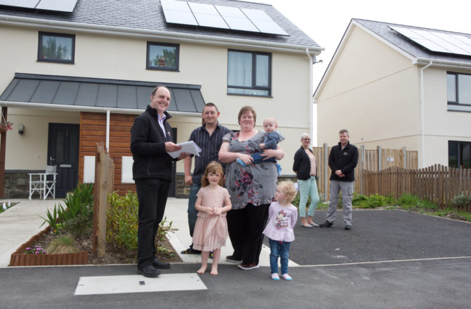 Welsh Families Praise Affordable New Homes Initiative