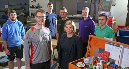 Investment in Work-Based Learning Pays off for Growing Aerospace Company