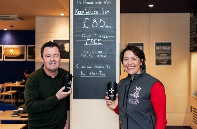 'Keep Cups' Launched by Cardiff Café Bar Chain in Collaboration with Keep Wales Tidy