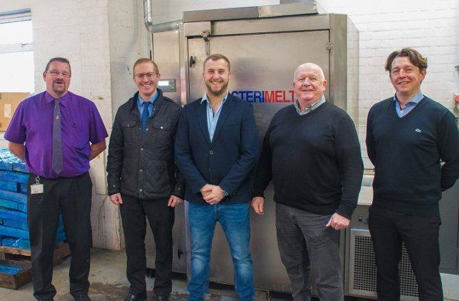 Newport Hospital Pioneers World First in Sterilisation Wrap Recycling