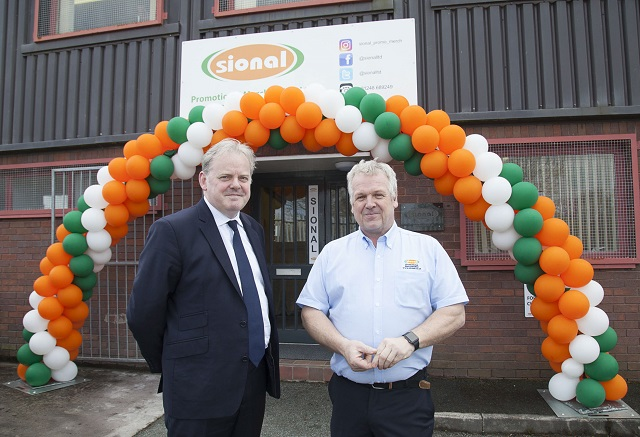 MP Officially Opens New HQ for North Wales Merchandising Company