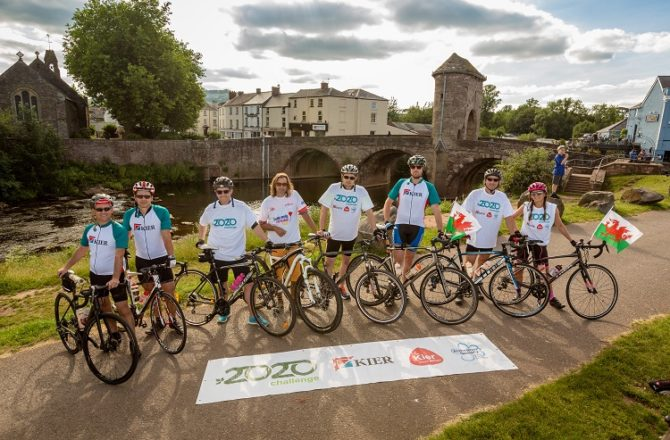 Kier's Wales and Western Team Raises £55,000 for Alzheimer's Society and Local Charities