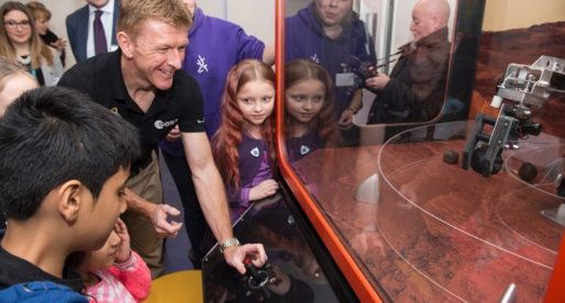 Techniquest Exhibits Feature at Science Centre Launched by Astronaut Tim Peake
