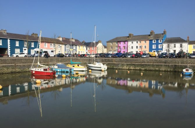 Aberaeron Among 10 Finalists Competing to be Wales' Best Place