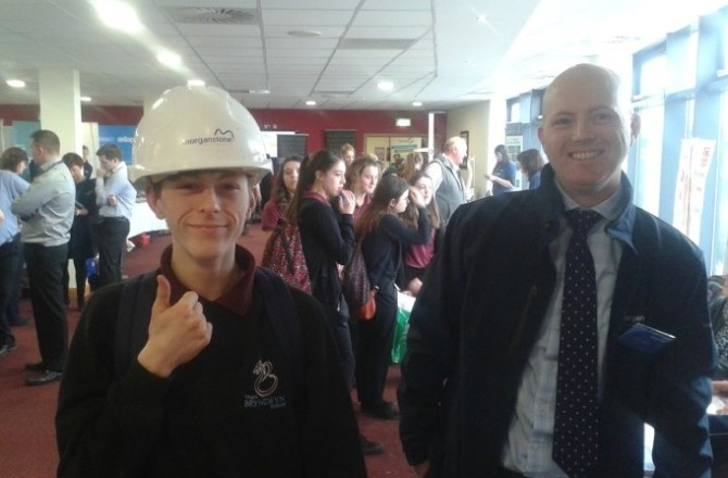 Morganstone Showcases at Welsh Careers Convention