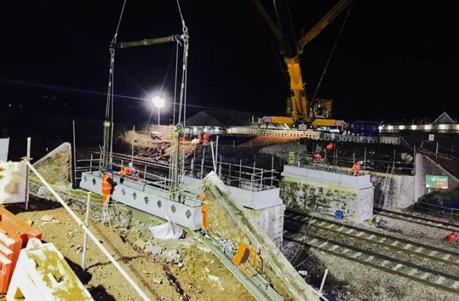 TIMELAPSE: Triple Bridge Demolition Work Completed in Monmouthshire